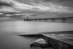 Clevedon Pier at Dusk