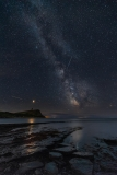 Milky Way at Kimmeridge Bay