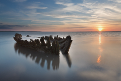 The wreck of the SS Nornen