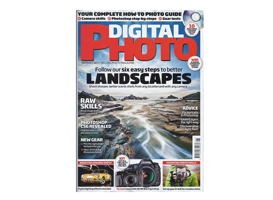 Front Cover – Digital Photo Magazine