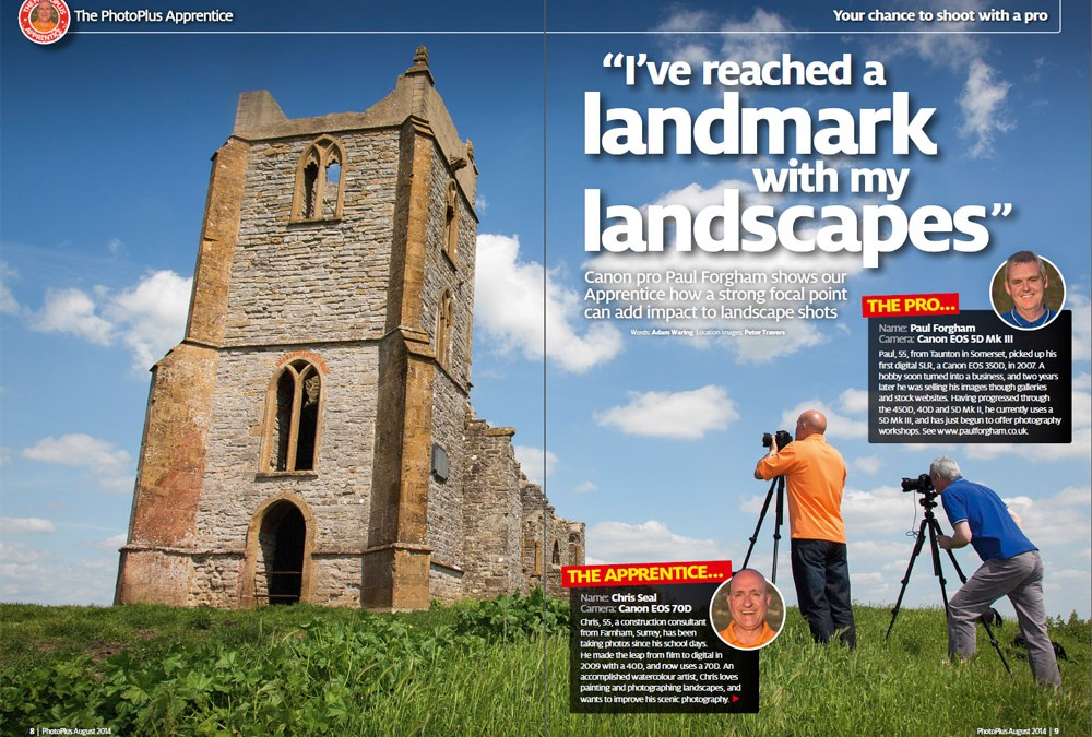 Pro/Apprentice Feature – Canon PhotoPlus Magazine