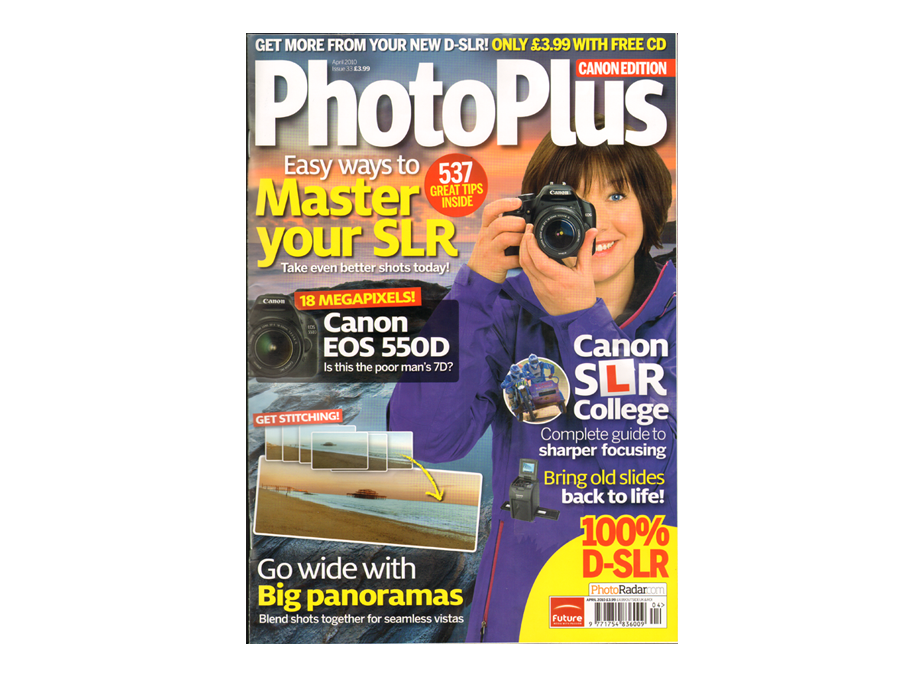 Commissioned Work- Canon PhotoPlus Magazine