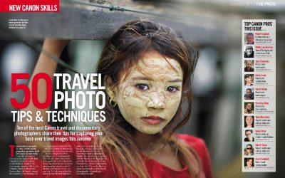 Pro Travel Tips – Canon PhotoPlus